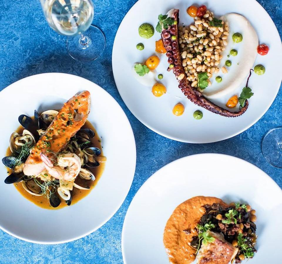 A trio of winter dishes at B&G Oysters