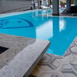 Topgolf third level pool