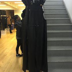 Leather jumpsuit, $175
