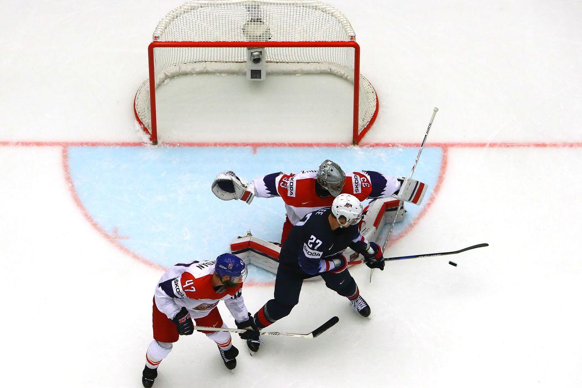 USA v Czech Republic - 2018 IIHF Ice Hockey World Championship Quarter Final