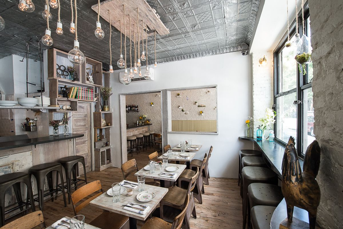 [Root and Bone in the East Village. Have you tried their fried chicken? Some people love it. It's brined in iced tea before hitting the frier.]