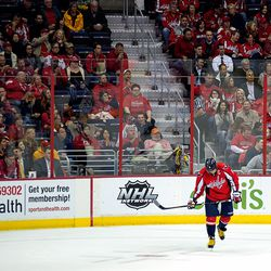 Ovechkin Skating To Bench