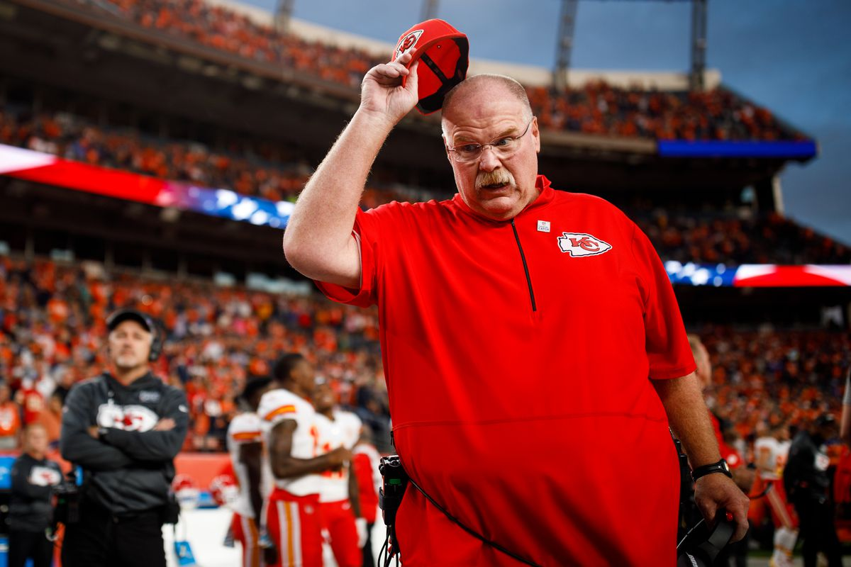 Marvelous Andy Reid Roundup Five Friday Takeaways From The Chiefs Bralicious Painted Fabric Chair Ideas Braliciousco