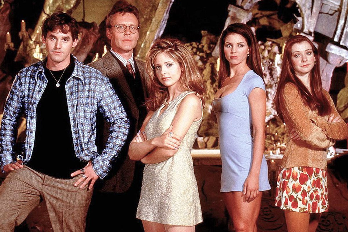 The First Season Cast Of Buffy