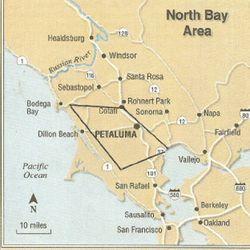 The Petaluma Wind Gap [source: Petaluma Visitors Program]