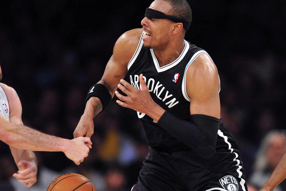 wholesale dealer b4e50 b6ab1 Nets vs. Nuggets preview: Paul Pierce, struggling Brooklyn ...