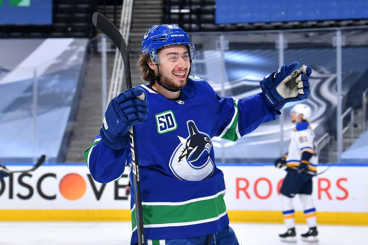 Vancouver Canucks 2019 20 Playoff Report Cards Quinn Hughes Nucks Misconduct