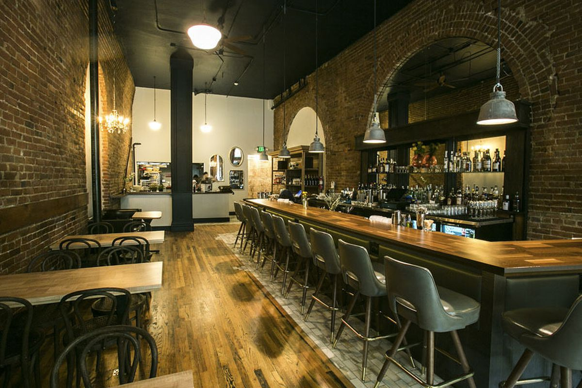"""<a href=""""http://seattle.eater.com/archives/2014/06/17/inside-the-wildly-anticipated-damn-the-weather-now-open-in-pioneer-square.php"""">Damn the Weather, Seattle, WA</a>."""