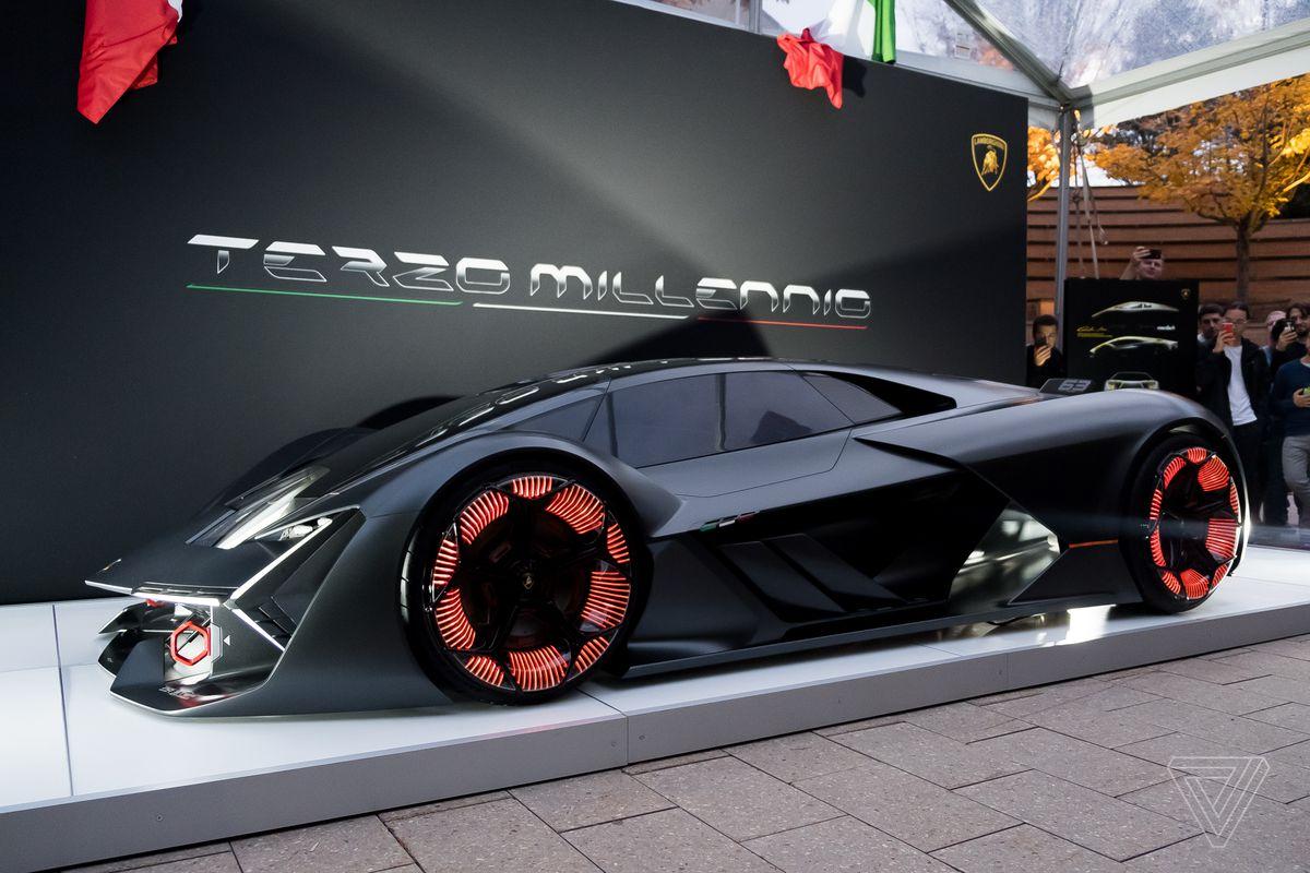 The Lamborghini Terzo Millennio concept is a lightning strike from ...