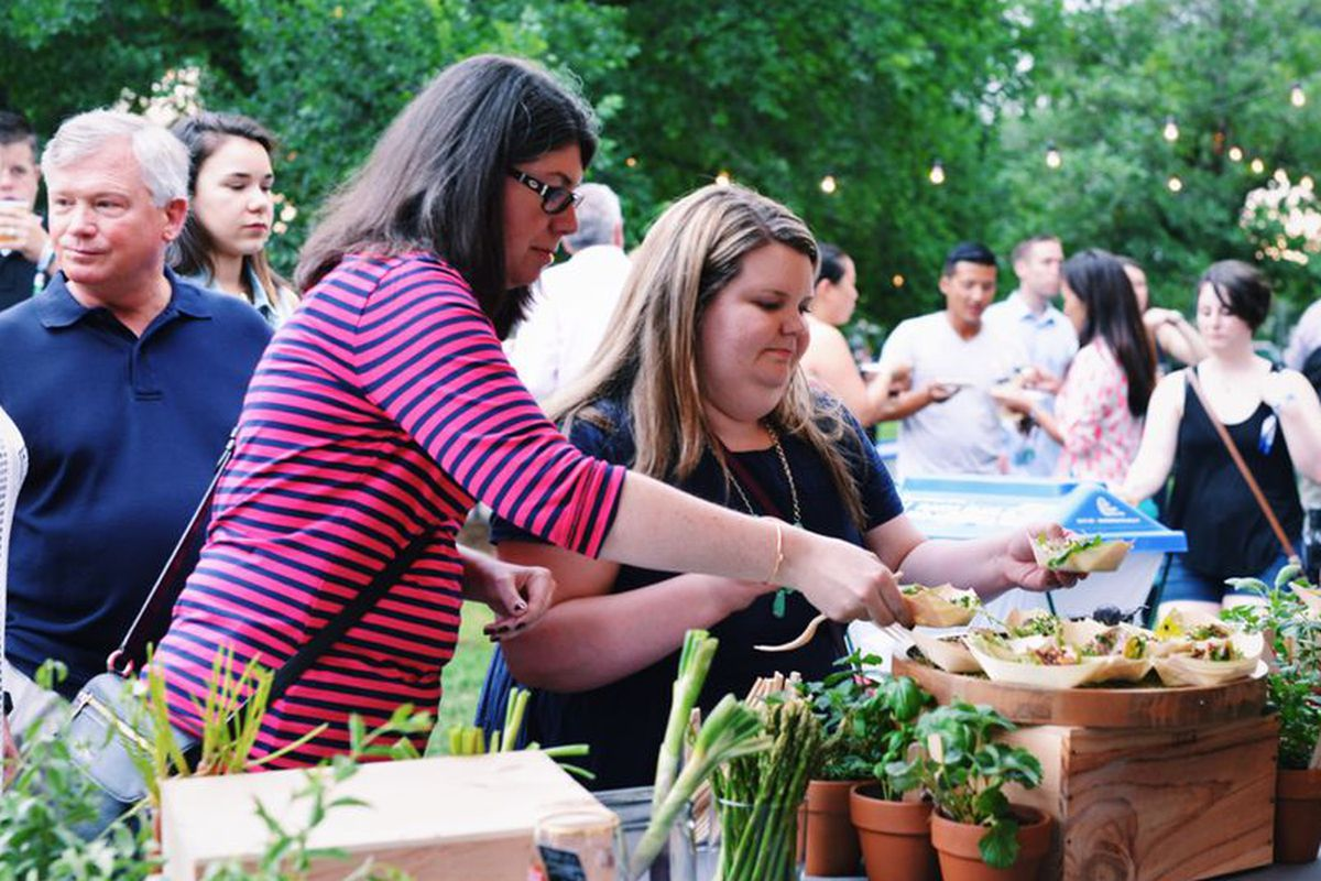 Guests at last year's Austin Food & Wine Festival