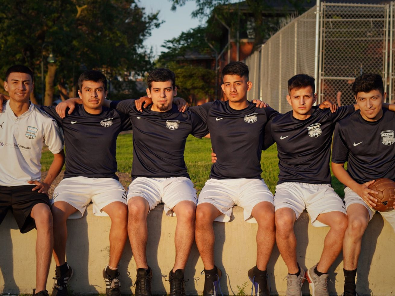 Saint Scrimmage is a documentary photo project created by Cami Thomas that highlights the underground soccer culture Pilsen F.C. is part of.