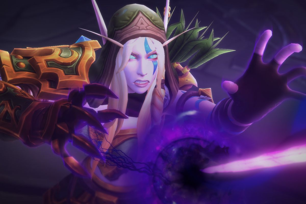 Allied Races Join The Fight In World Of Warcraft Battle For Azeroth Polygon Void elf tabards are now on the ptr. of warcraft battle for azeroth