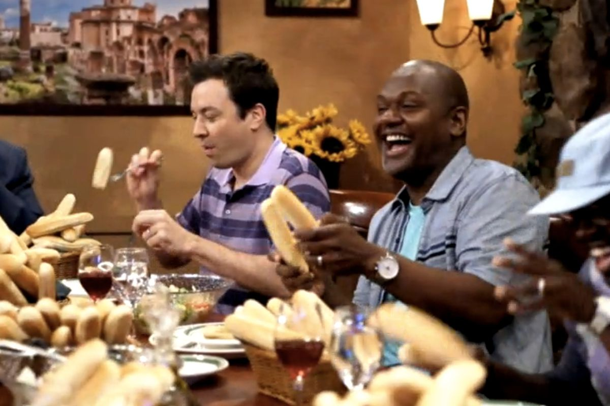 Watch Jimmy Fallon\'s Parody Olive Garden Commercial - Eater