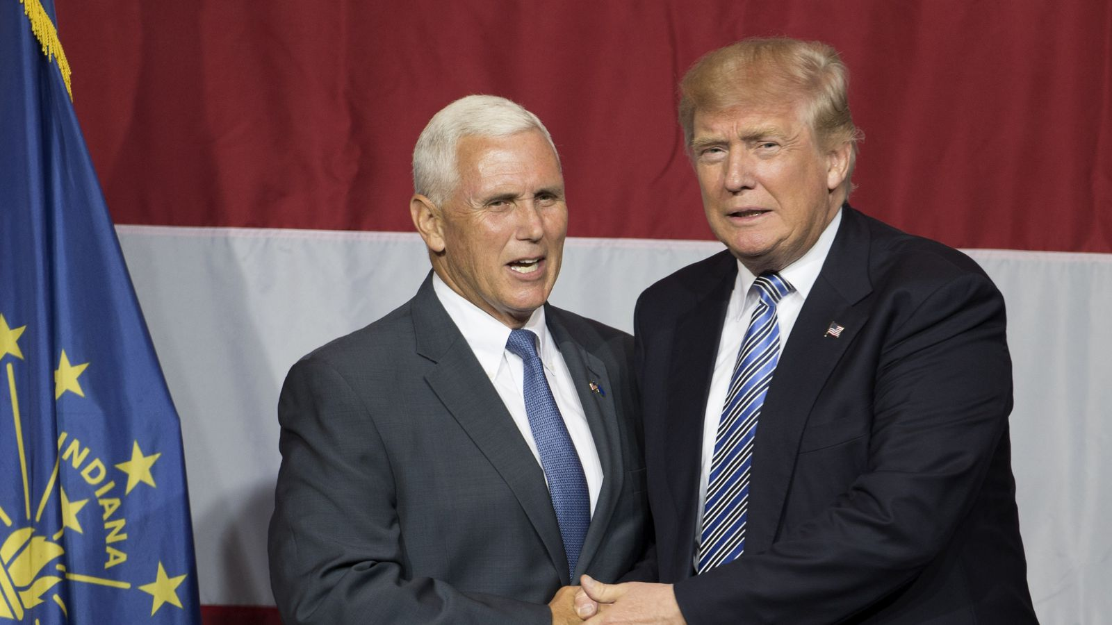 Mike Pence as Donald Trump's vice president is an extra