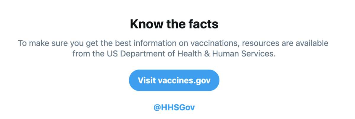 Twitter fights vaccine misinformation with new search tool - The Verge