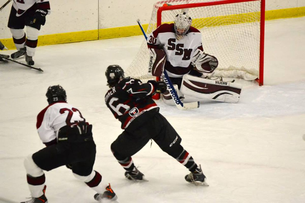 Shattuck-St. Mary's, in 2013 Elite League play.