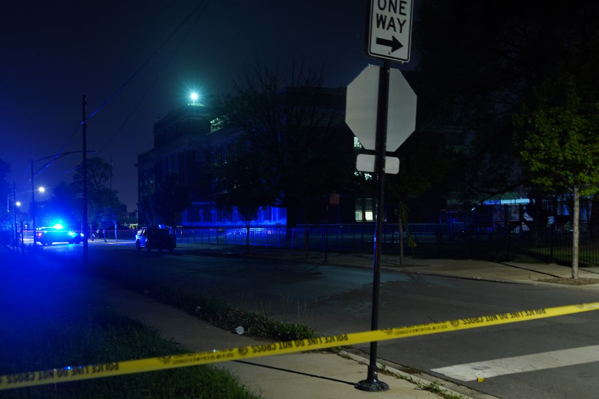 Two teens were wounded in a shooting in Lawndale.