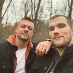 Taylor Vanderlaan is a rugby player and activist for LGBTQ rights in Grand Rapids and the Michigan regional board member for You Can Play and is engaged to fellow Outsports athlete Brenden Moon.