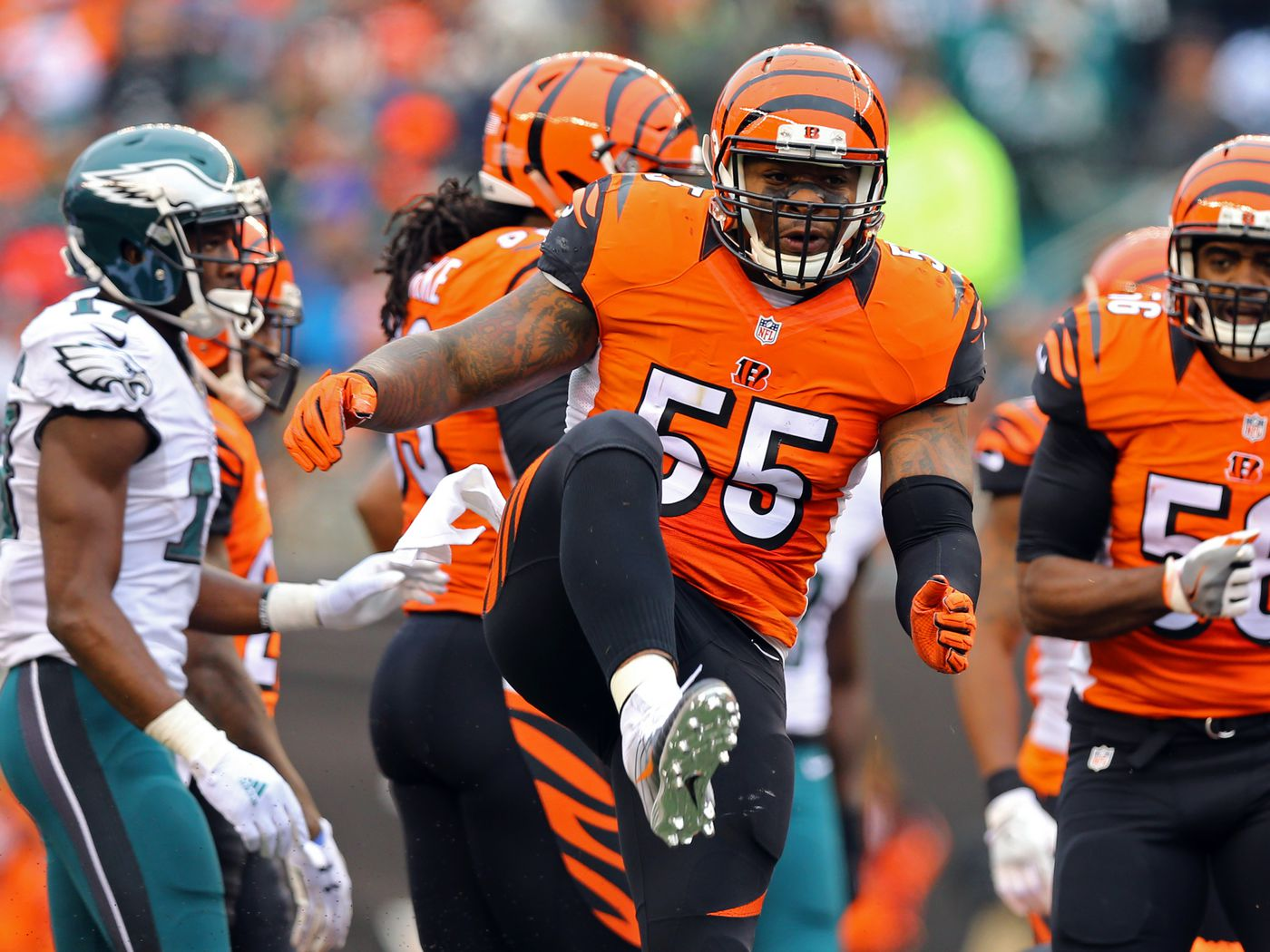 A Complete History Of Vontaze Burfict Being A Reckless