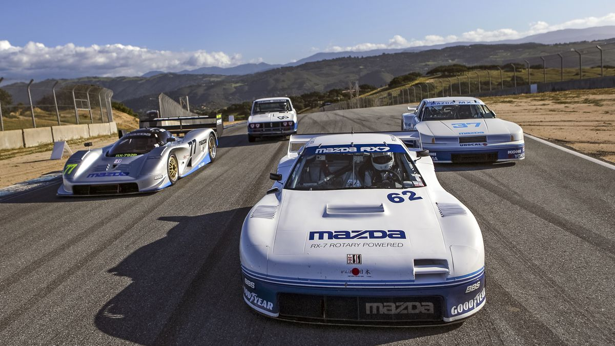 San Francisco Toyota >> Mazda's future is hidden in these completely mad vintage ...
