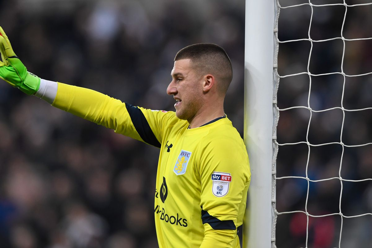 Aston Villa confirm arrival of Premier League 'keeper
