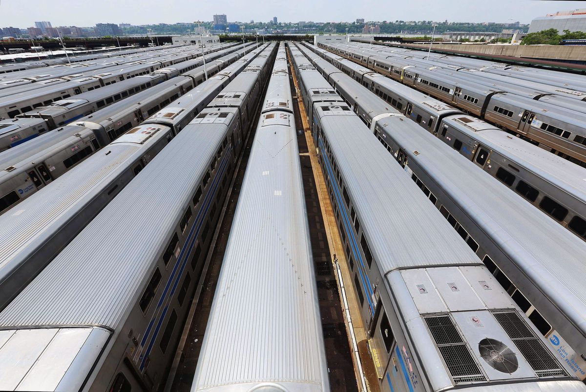 Transportation Secretary Ray LaHood And Sen. Charles Schumer Announce NYC Infrastructure Project