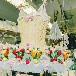 One of the dresses worn during the Dance of the Marzipan.