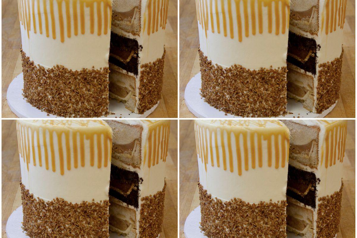 Meet the next Thanksgiving hybrid, the pumpecapple piecake.