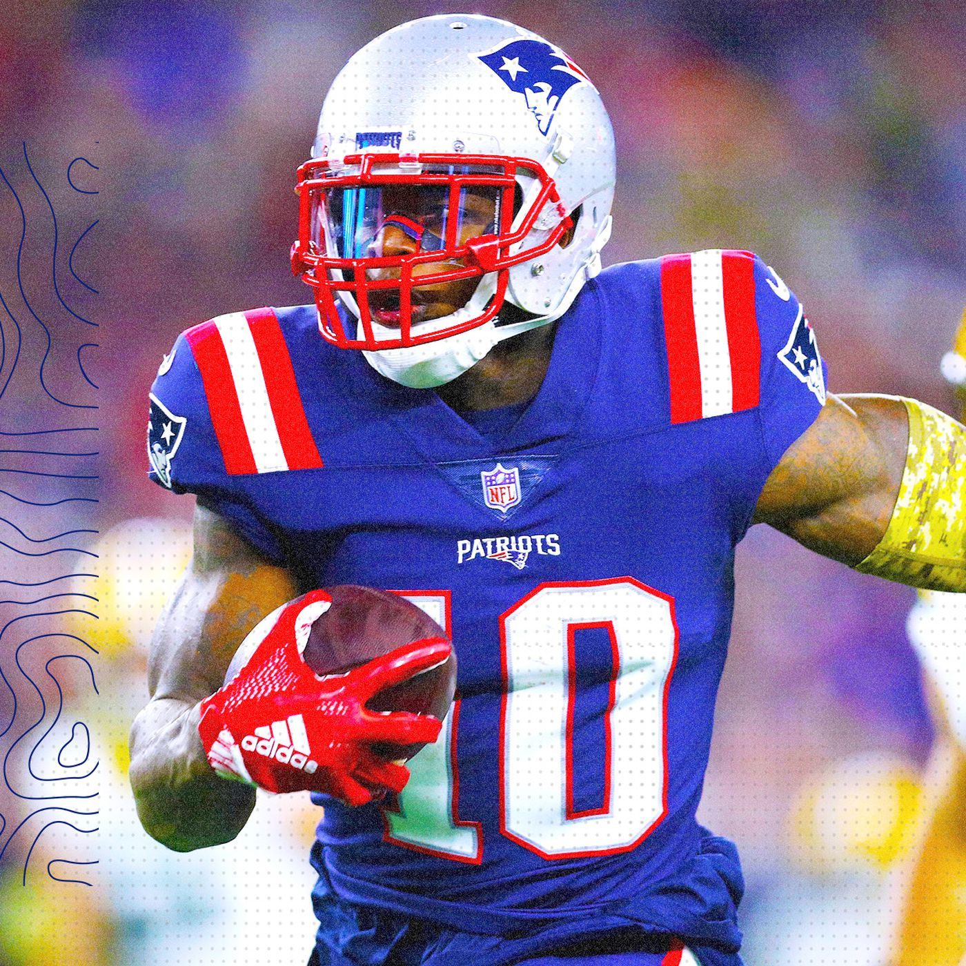 new style d733a e42a1 4 ways the Patriots are getting the most out of Josh Gordon ...
