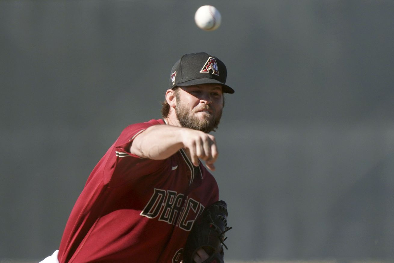 MLB: Arizona Diamondbacks-Workouts