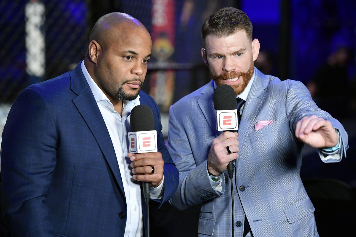 Daniel Cormier and Paul Felder made light of weight cutting at UFC Vegas 30