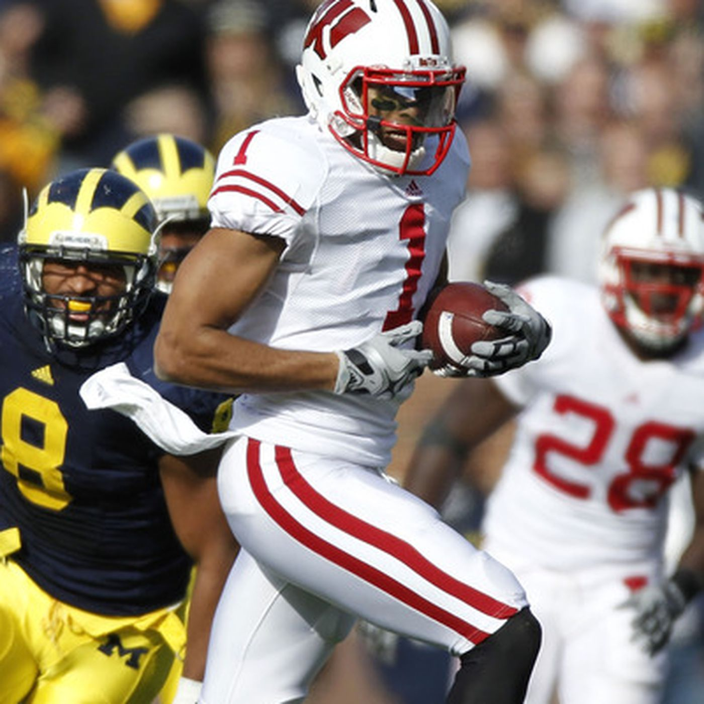 Nick Toon, NFL Draft 2012: Badgers Receiver Looks To Separate From ...