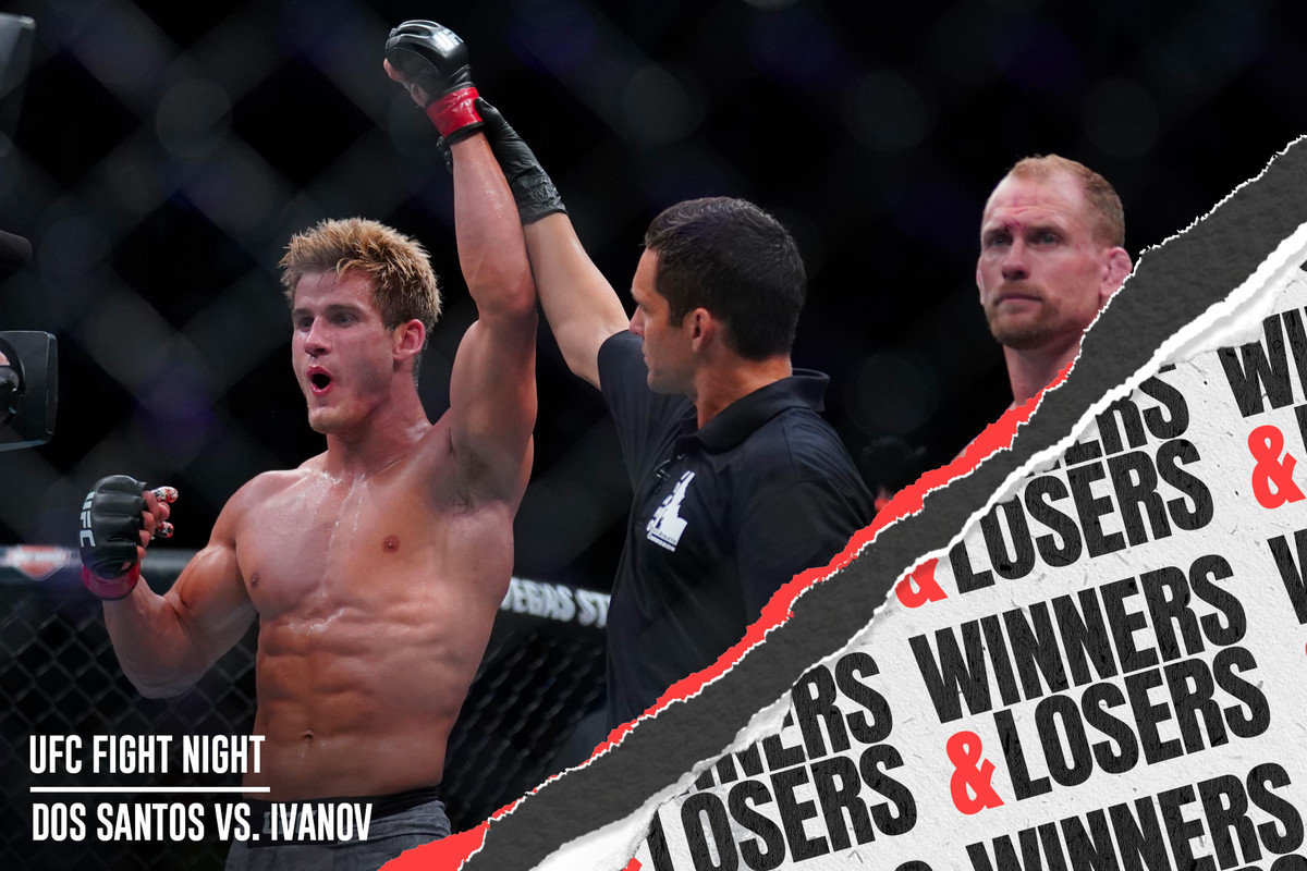Ufc boise dos santos vs ivanov winners and losers bloody elbow stopboris Images