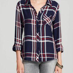 "Rails hunter plaid shirt, <a href=""http://www1.bloomingdales.com/shop/product/rails-shirt-hunter-plaid?ID=1072101&PartnerID=LINKSHARE&cm_mmc=LINKSHARE-_-n-_-n-_-n&LinkshareID=J84DHJLQkR4-tzwlF3H3Z457EangW3uvLA""target=""_blank"">$128</a> at Bloomingdale's"