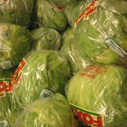 Five Guys goes through 251 heads of lettuce a week.