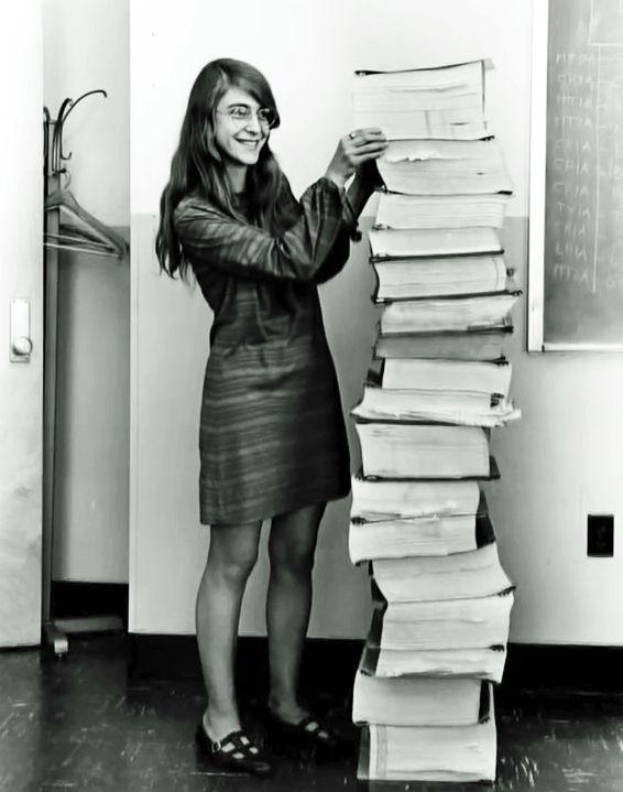 NASA Apollo Program chief software engineer Margaret Hamilton