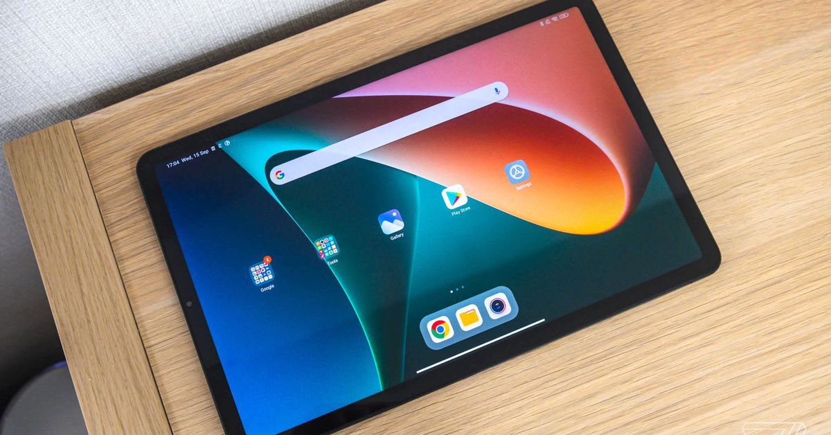Xiaomi returns to Android tablets with the 11-inch Pad 5