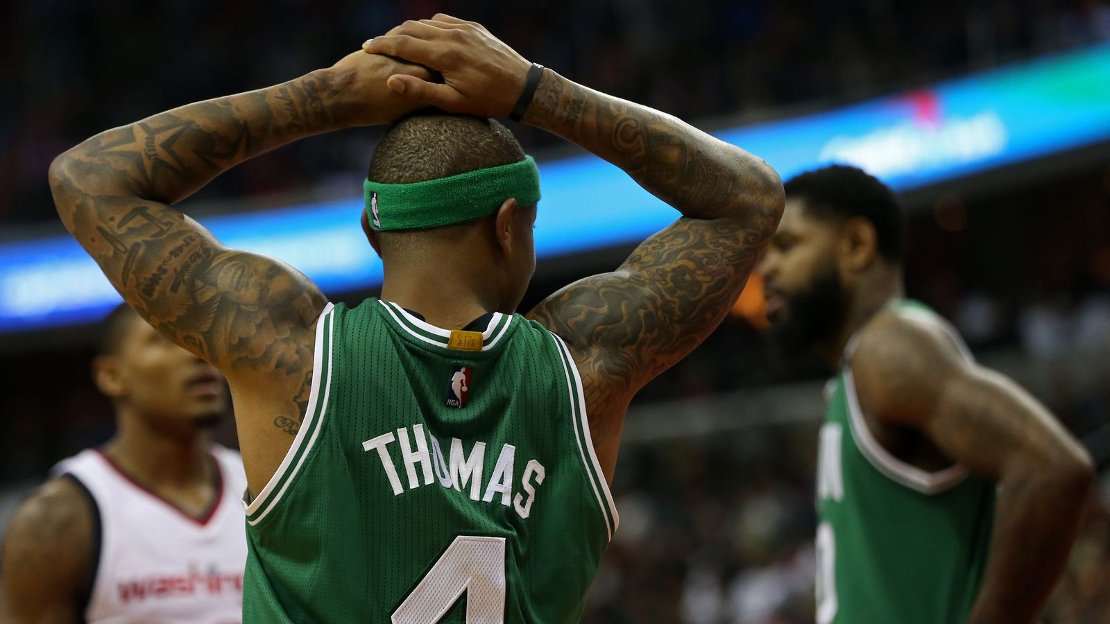 Isaiah Thomas? hip injury played ?some? role in Celtics trade for Kyrie Irving