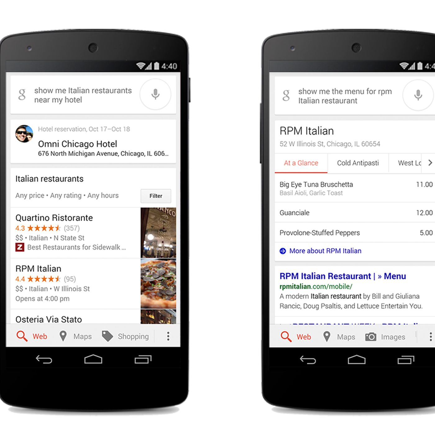 Google Integrates OpenTable Into Mobile App Eater - Google open table