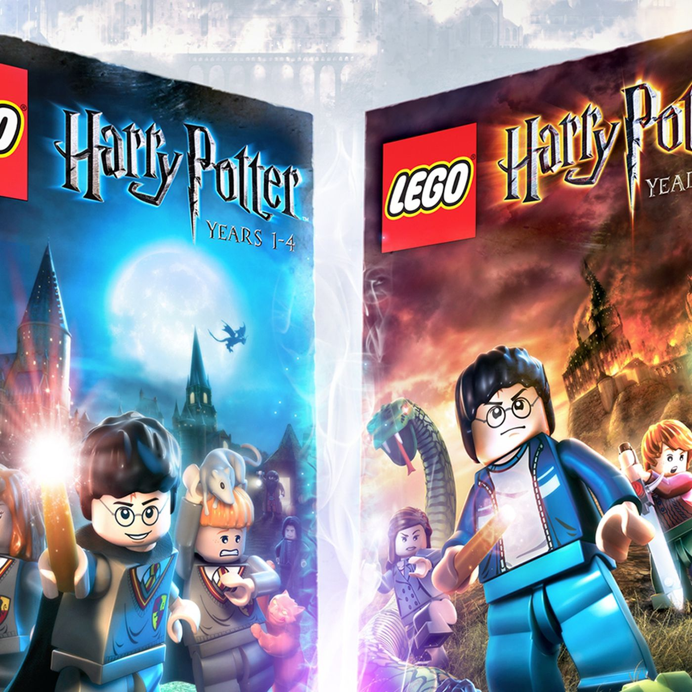 Remastered Lego Harry Potter Collection Coming To Switch And Xbox