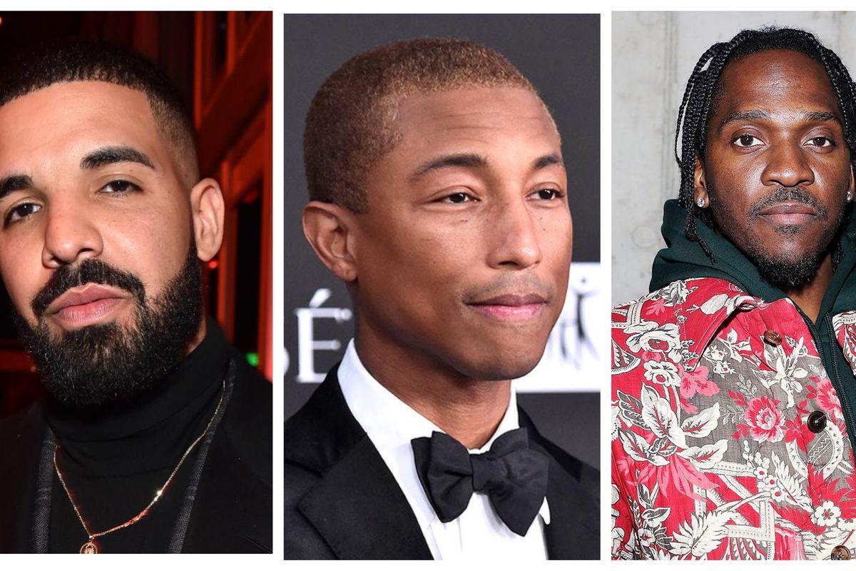 Drake, Pharrell and Pusha T