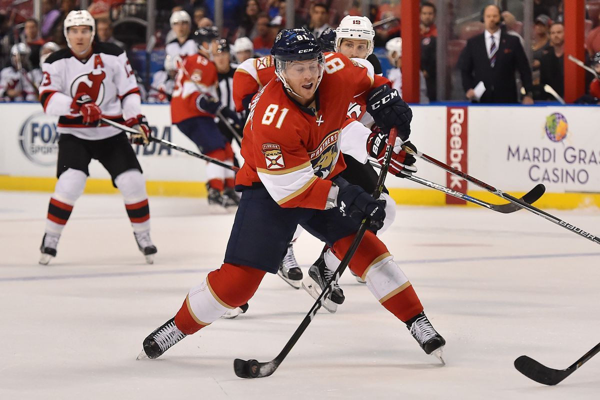 NHL: New Jersey Devils at Florida Panthers