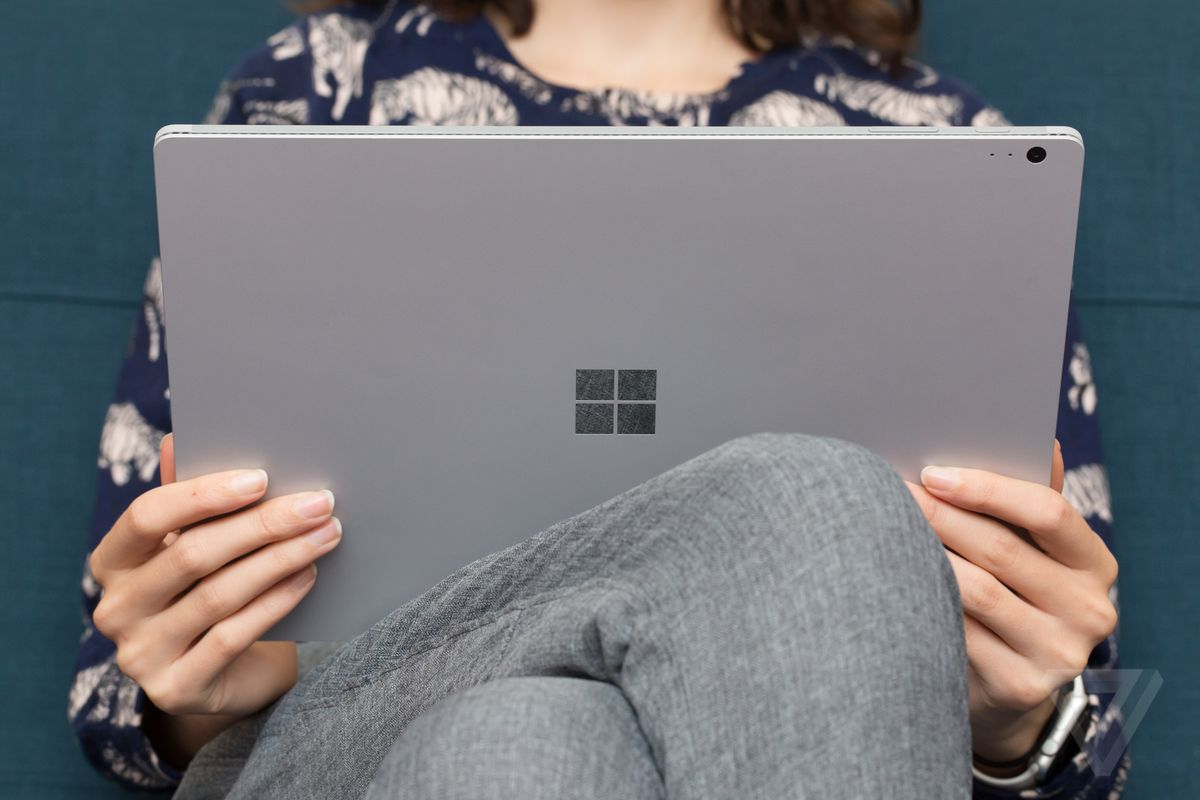 Surface Book review lap
