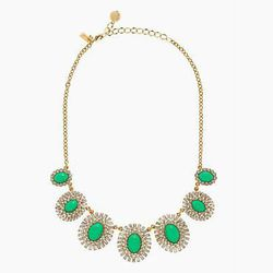 "<b>Kate Spade</b> Capri Garden Necklace, <a href=""http://www.katespade.com/capri-garden-necklace/WBRU7449,en_US,pd.html?dwvar_WBRU7449_color=309&cgid=ks-new-arrivals-view-all#prefn1=web-color-name2&prefv1=green&start=9&cgid=ks-new-arrivals-view-all"">$148<"