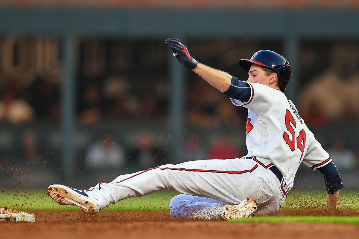 MLB: AUG 13 Mets at Braves