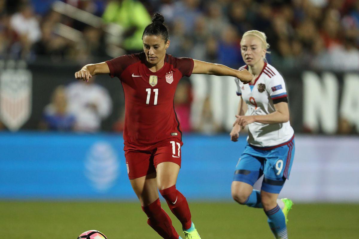 Soccer: Women's National Team Friendly-Russia vs USA