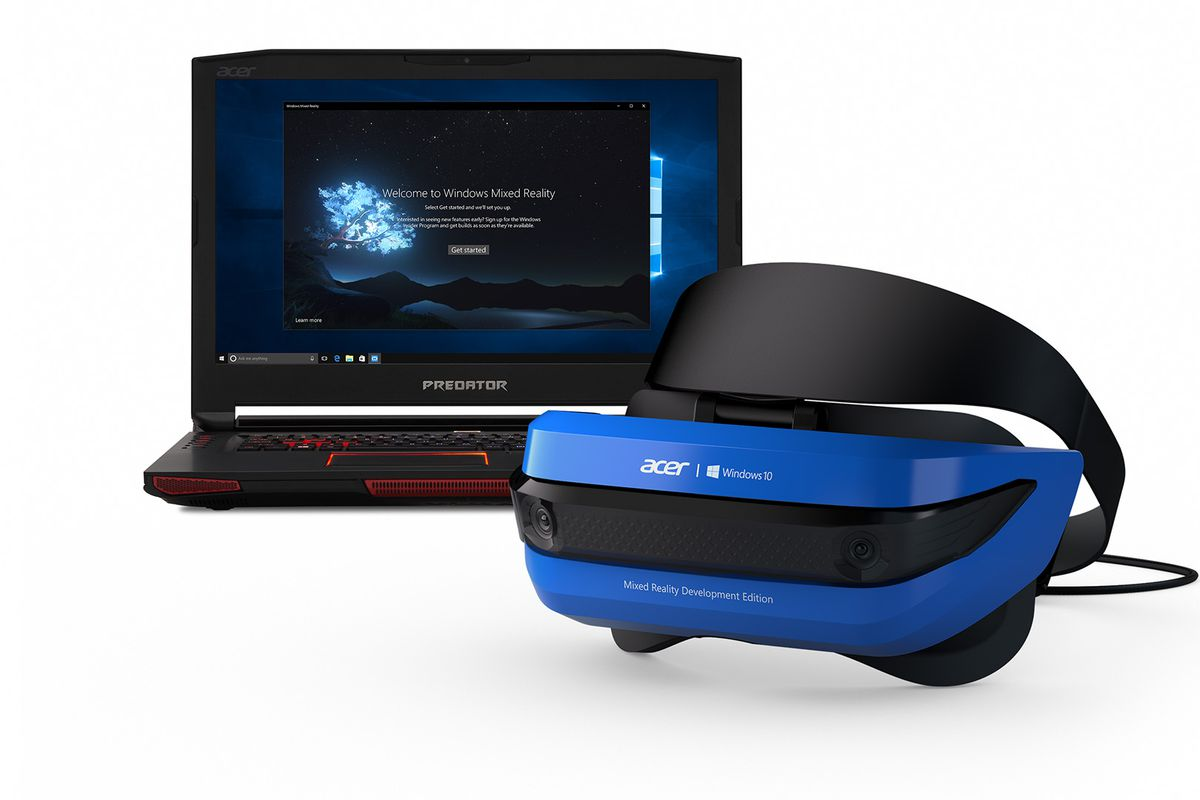 Microsoft Starts Selling Windows Mixed Reality Headsets To Consumers