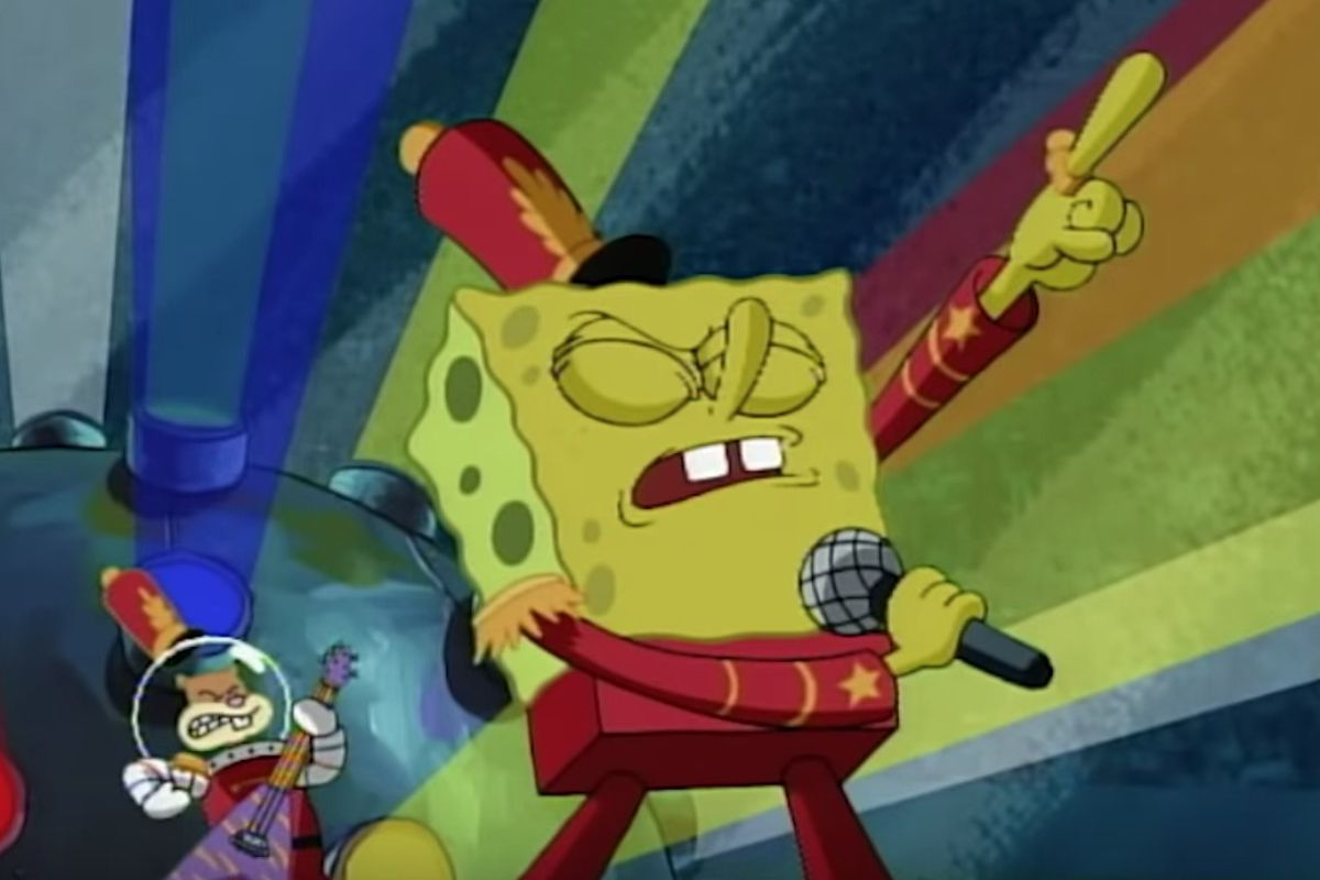 Spongebob squarepants sweet victory finally gets a super bowl tribute