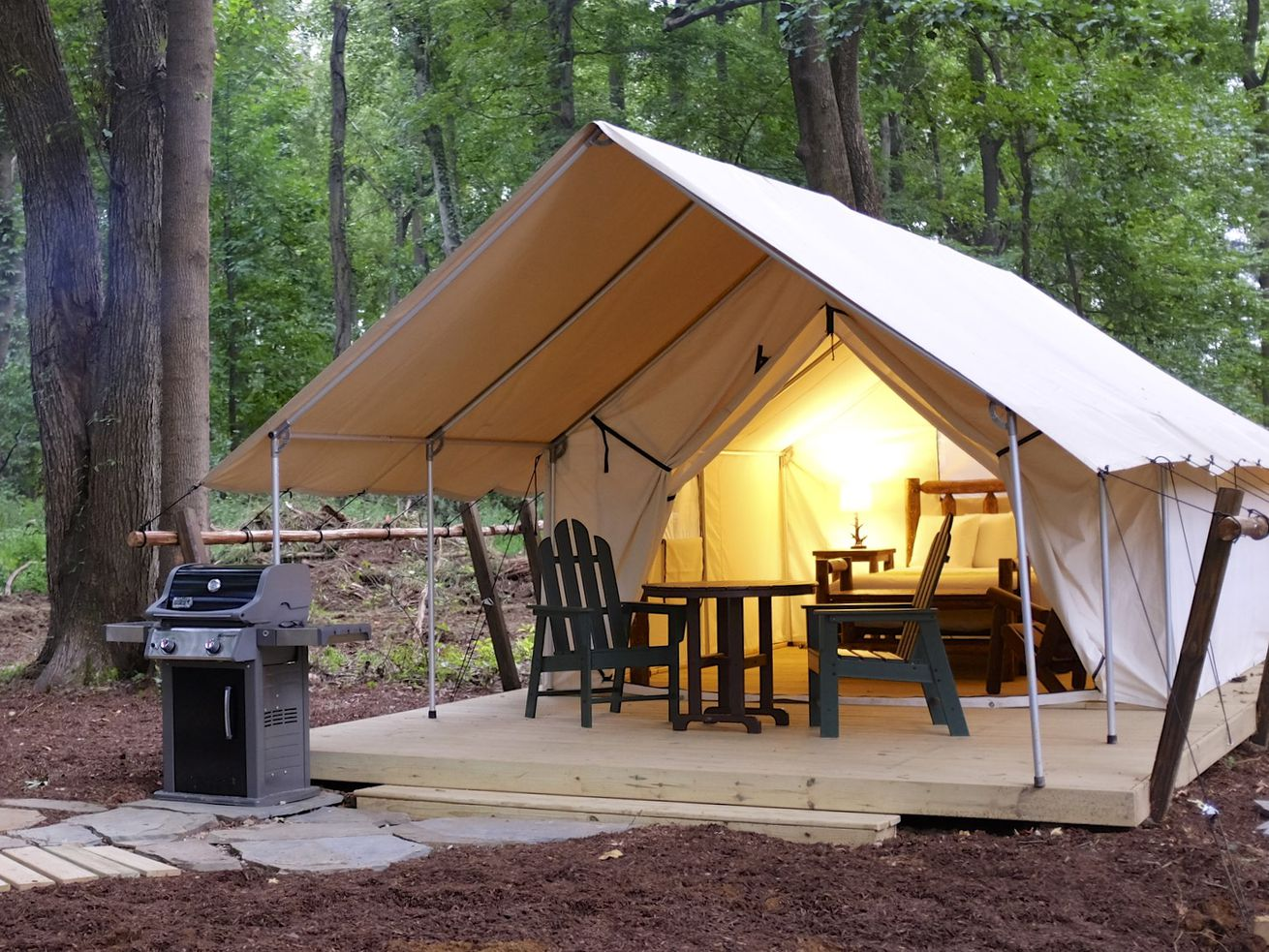 Glamping is hotter than ever, just ask millennials