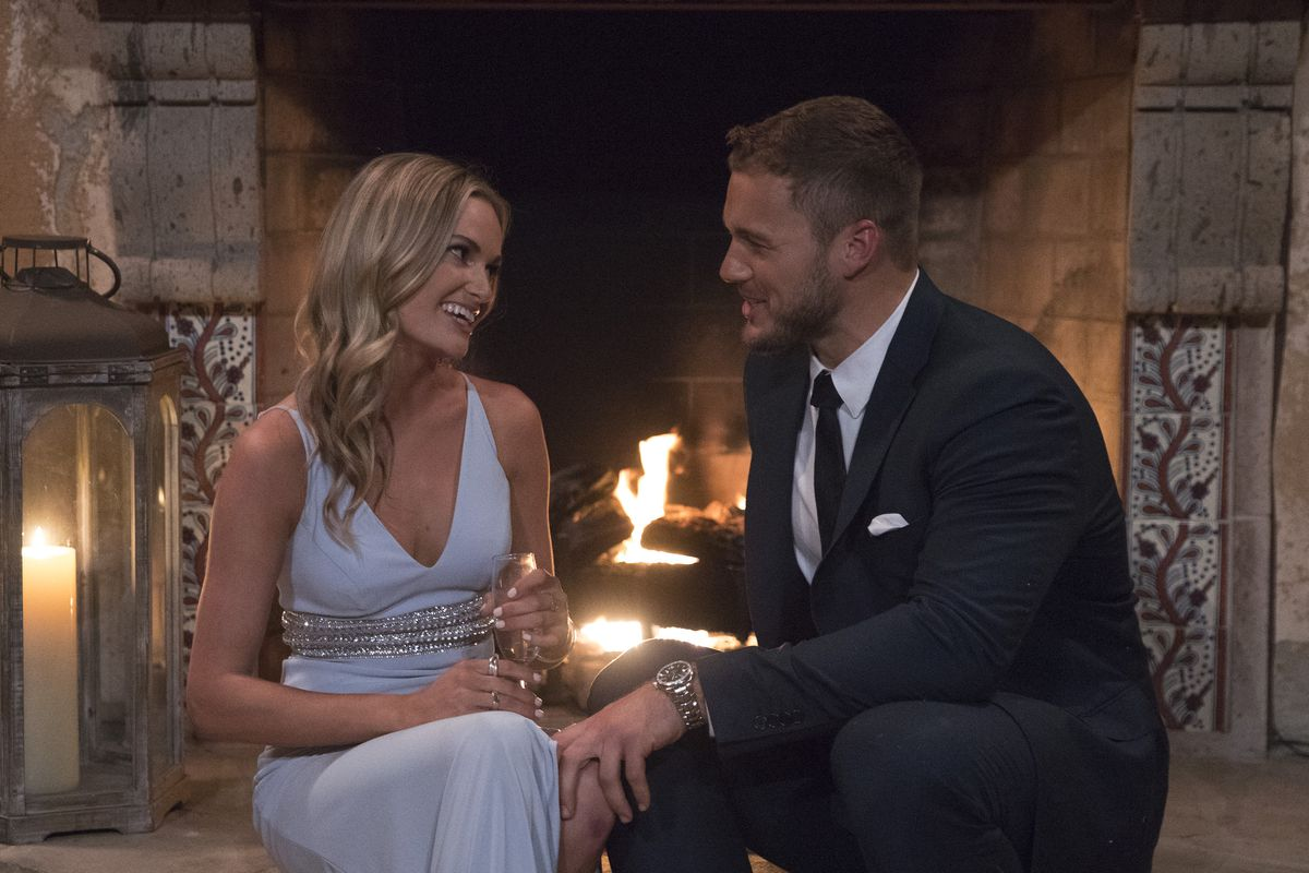 Colton Underwood, the star of this season's The Bachelor, and one of his  suitors during the premiere episode. Rick Rowell/ABC/Getty Images ...
